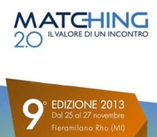 Edok a Matching 2013 – Milano dal 25 al 27 novembre