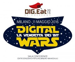 IX°DIG.Eat 2016 di ANORC: Digital Wars, la vendetta dei bit