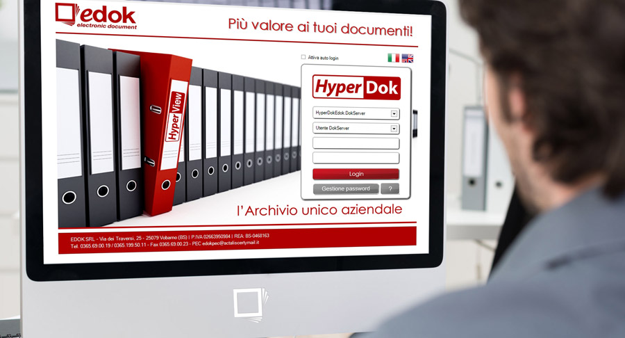 Demo software gestione documentale Hyperdok