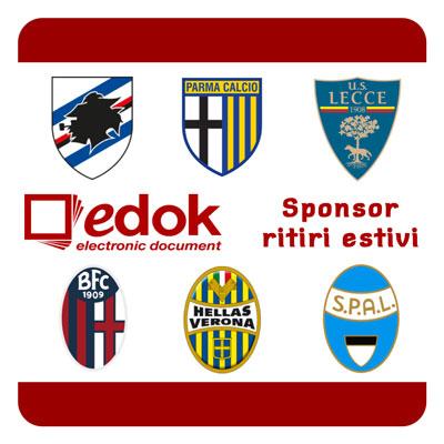 Edok Sponsor Serie A Calcio
