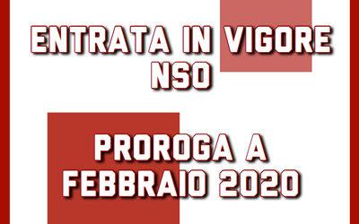 proroga nso febbraio 2020