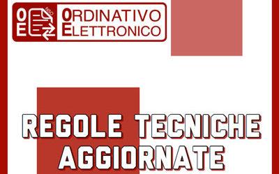 regole tecniche ordine elettronico