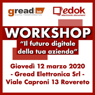 Workshop azienda digitale